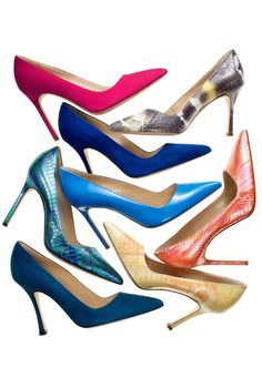 BB by Manolo Blahnik ~ color and elegance for everyday of your work week