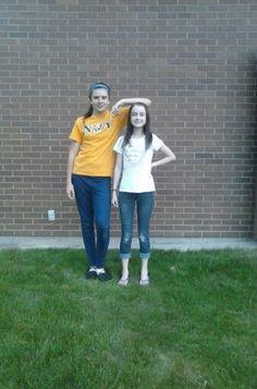 Every tall girl needs a short best friend