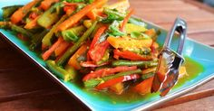 It's not hard to get into cooking lots of Indonesian dishes this month. Fresh bright vegetables with strong hot, sour and sweet zing? Y...