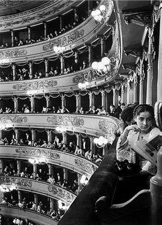 Alfred Eisenstaedt (1898-1989): Premiere at La Scala, Milan, 1934.