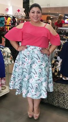 Torn Jeans, High Waisted Skirt, Curvy, Plus Size, Chic, Skirts, Outfits, Color, Style