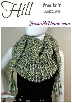 Hill - free knit pattern by Jessie At Home