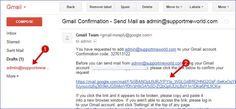 Gmail confirm