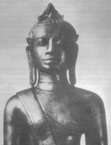 Ancient Black Buddha Thailand