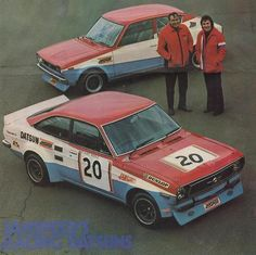 Datsun racers.