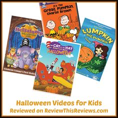 Review This Reviews!: Halloween Videos for Kids Halloween Videos For Kids, Halloween Gif, Halloween Movies, Cartoon Gifs, Animated Cartoons, Charlie Brown Movie, Family Video, Tomorrow Is Another Day, Movies Worth Watching