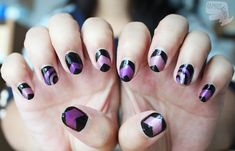 Hawkeye nails by ~xcalixax on deviantART