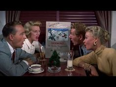 The classic holiday musical WHITE CHRISTMAS starring Bing Crosby and Rosemary Clooney has been released on Blu-ray (reissue). White Christmas Movie, Christmas Movies, Christmas Time, Merry Christmas, Christmas Loading, Vera Ellen, I Love Winter, Winter Fun, Irving Berlin