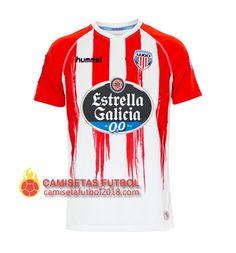 8249f36123b07 Primera camiseta Tailandia CD Lugo 2016 2017 Camisetas De Fútbol