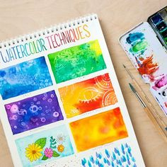 TOOLBOX: 8 Watercolor Techniques for Beginners