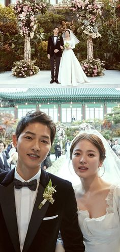 their private wedding at the Shilla Hotel in Seoul on October 31