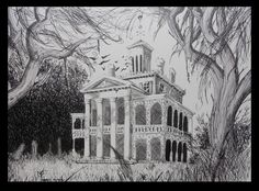 The haunted mansion by mibagelly on deviantART
