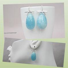 Cool blue aquamarine earrings...a unique take on March's birthstone. #NewClassic #Getawaygirl