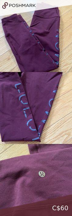 "Lululemon legging 25"" Size 8 25"" - Lightly pilling - Perfect condition lululemon athletica Pants & Jumpsuits Leggings Free Leggings, Women's Leggings, Lululemon Pants, Lululemon Athletica, Diesel Jacket, Brandy Melville Jeans, Dark Grey Leggings, High Rise Pants, Lightweight Jacket"