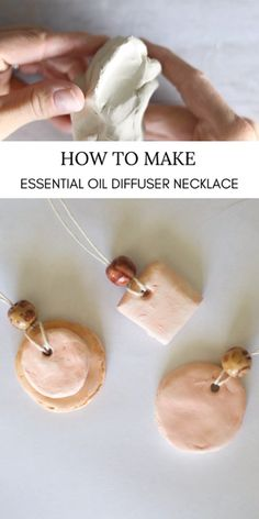 DIY Essential Oil Diffuser Necklace How to make a DIY diffuser necklace. Essential oil blends for diffuser jewelry. Diy Essential Oil Diffuser, Diffuser Diy, Making Essential Oils, Essential Oil Jewelry, Diffuser Jewelry, Doterra Diffuser, Diffuser Blends, Diy Body Butter, Do It Yourself Jewelry