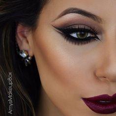 Amazing look by @amysmakeupbox #makeup #eyeliner
