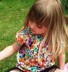 Lillianna enjoying life outdoors