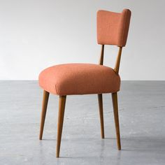 Joaquim Tenreiro, Side chair in caviona with upholstered seat and back, 1947