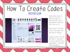 Primary Junction: Using QR Codes in the Classroom - What are QR codes and how to create and insert them tutorial.