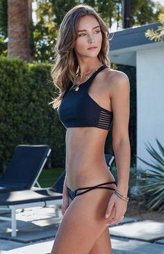 Venice Strappy Cropped Bikini Top