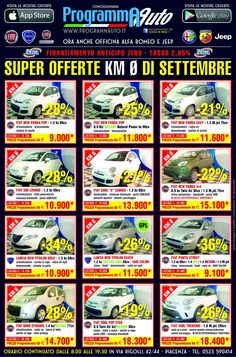 Ecco le nostre offerte KM0  Info: FRANCESCO 347/9519042 f.felisso@programmauto.it  MASSIMO 333/9745708 m.fava@programmauto.it