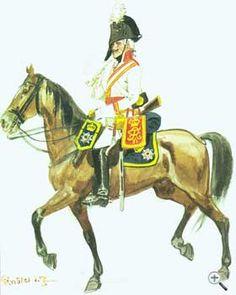 Униформа рядового жандармского (кирассирского №10) полка, 1806 год - Uniformen Privat preußischen Gendarmen (Kirasirsky №10) Regiment 1806