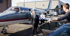 College travel for the 1 percent. Private jets.