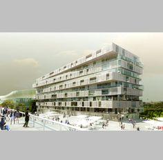 Farshid Moussavi y RIADH: conjunto residencial en París - Arquitectura Viva · Architecture magazines
