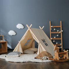キッズテント in 2020 Class Design, Baby Room Design, Daughters Room, Blue Rooms, Kid Spaces, Cool Baby Stuff, Kids Bedroom, Ideal Home, Decoration