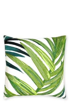 Buy Embroidered Loreto Palm Leaf Cushion from the Next UK online shop £18