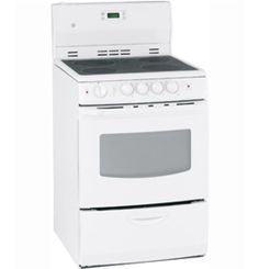 """JCAS745MWW by General Electric Canada in Winnipeg, MB - GE 24"""" Free Standing Electric Standard Clean Range Shop JS Furniture Gallery for all your appliance needs.  1725 Ellice Avnue, Winnipeg, http://furnitureandmore.ca"""