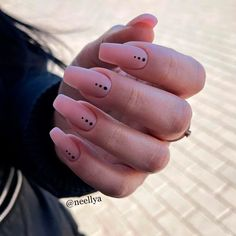 Simple Matte Coffin Nails For Everyday ❤ 35+ Magnificent Coffin Nails Designs You Must Try ❤ See more ideas on our blog!! #naildesignsjournal #nails #nailart #naildesigns #nailshapes #coffinnails #balerinanails #coffinnailshapes