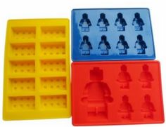 LEGO Silicone Molds - Oh, the possibilities! Check out this set of 3 LEGO molds. They are made of 100% food Grade silicone, eco-friendly, reusable, flexible, durable, non-toxic, BPA free. Perfect for party favors, fun treats, etc.