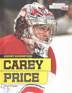 Skilled and agile, Carey Price is a goalie teammates know they can rely on. One of the youngest NHL goalies to reach the 100-win mark, Price quickly established himself as a star. Readers will learn m