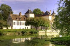 Chateau de Sigy, France jigsaw puzzle in Castles puzzles on TheJigsawPuzzles.com