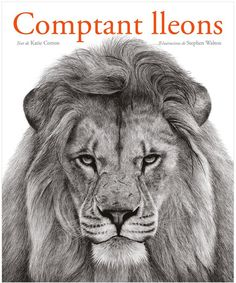 Picture Book: Counting Lions: Portraits from the Wild by Katie Cotton. Pictures by Stephen Walton Grimm, Ethiopian Wolf, Diy Montessori, Lion Book, Counting Books, Chimpanzee, Penguin Random House, Black And White Drawing, Fun Math