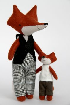 Foxy father and son by the brilliant Manomine