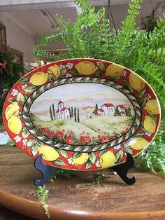 Sorrento, Paint Colors, Costa, Decorative Plates, Tile, Anna, Ornaments, Painting, Ideas