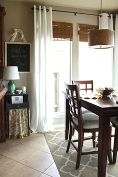 The Breakfast Room Makeover | Decorchick! Changing her world, one project at a time