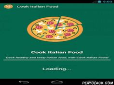Cook Italian Food  Android App - playslack.com , Italian cooking is probably one of the best foods in this planet. Whether it is the simple dishes or high quality cooked dishes, every serving involves a lot of passion and experiment. What is finally ready for the table is so mouth watering and revolutionary. From sauces and to sides to pasta and pizzas, Italian cuisine can make any dinner table go mad with delicacy. If you are looking to start cooking Italian in your house, this app is a…