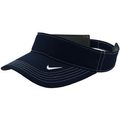 868fd0cb Men Golf Clothing *** Nike Golf DriFIT Swoosh Visor 429466 Navy No Size *