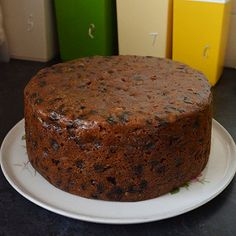 If you want a Christmas cake without sugary icing, trust Mary Berry to sort you out. This fruit cake is great for other occasions, too. Delicious Cake Recipes, Healthy Dessert Recipes, Baking Recipes, Cookie Recipes, Healthy Cake, Xmas Food, Christmas Cooking, Christmas Desserts, Christmas Cakes