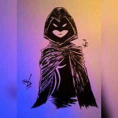 Raven Ravena Teen Titans Jovens Titãs  Dc Comics Desenho Drawing  Insta: icarodn27
