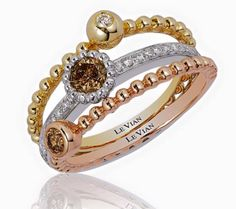 New stackable rings from LeVian