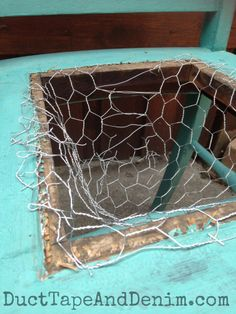 How to Repurpose a Broken Old Chair into a Stunning Chair Planter Chicken wire repurposed my vintage Old Chairs, Vintage Chairs, Outdoor Chairs, Dining Chairs, Ikea Chairs, Adirondack Chairs, Upholstered Chairs, Black Chairs, Desk Chairs