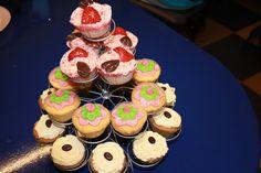 Verschillende soorten cupcakes.