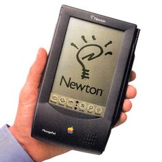 Pin for Later: 8 Rare Gadgets Everyone and Their Mother Should Know About This Apple Newton message pad from way back in 1993 that was touchscreen and came with a pen stylus. Source: Old Computers Tech Hacks, Tech Gadgets, Apple Newton, Mobile Computing, Cloud Computing, Old Computers, Apple Computers, Apple Products, Baby Products