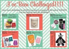 Challenge. www.MilenaSorrentino.scentsy.us      Join my team. Follow me on FB at Scents&Scentsybilities .