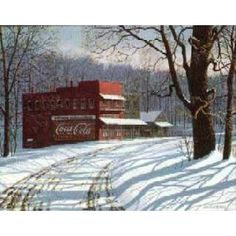 Jim Harrison Coca-Cola And Snow Limited Edition Art Prints Posters and Framing by Prints.com