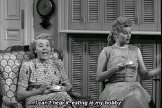I Love Lucy!! I love this line! Haha